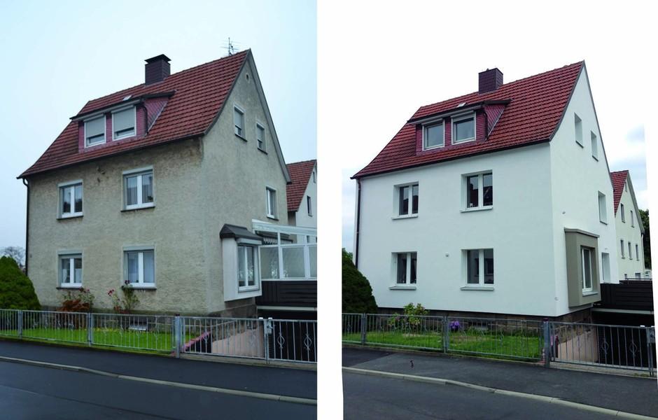 Haus Umbauen Vorher Nachher 70er jahre haus vorher nachher zummlamm with 70er jahre haus